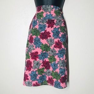 NWT floral bodycon pencil skirt small
